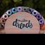 Jasper 5//6mm Hole 12 Gemstone Dreadlock Beads Opalite 3//16-1//4 Inch Jade