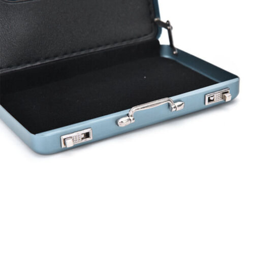 MINI Cute Password Briefcase Business Cardcase Bank Card Case Card Holder WD