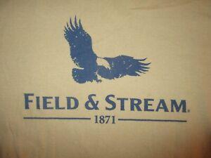 FIELD-amp-STREAM-T-SHIRT-Eagle-Bird-Outdoors-Magazine-Fishing-Hunting-Adult-LARGE