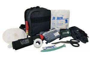 Elite First Aid Enhanced IFAK Kit Level 2 Stocked Medic Set Tactical Trauma