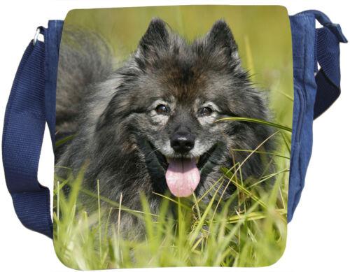 Jeans Wolfsspitz Schultertasche Tasche 01 Umhängetasche Wfs Baumwolle txFvxqwTZ