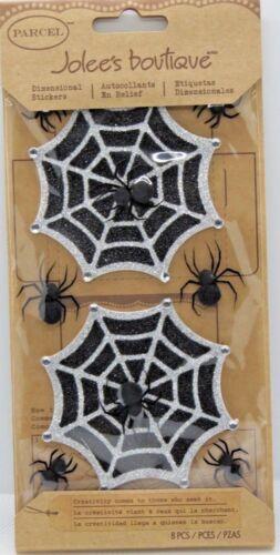 Glitter Halloween Spider Webs Jolee/'s Parcel 3D Sticker