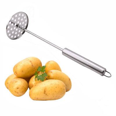 Stainless Steel Potato Vegetable Presser Blender Mud Masher Kitchen Tool 8C