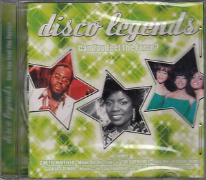 Compilation-CD-Disco-Legends-Can-You-Feel-The-Force-M-M-Scelle-Sealed