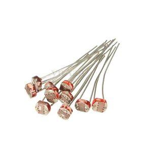 10x-GL5506-Fotoresistenza-LDR-5mm-Light-Dipendente-Resistor-Sensore-for-Arduino