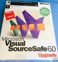 Microsoft Visual Source Safe 6.0 Upgrade Version Control System
