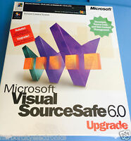 Microsoft Visual Source Safe 6.0 Upgrade Version Control System