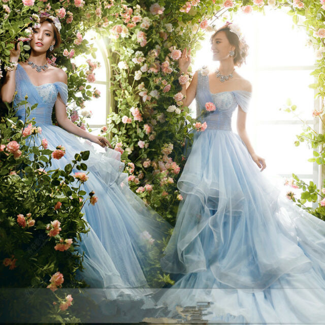 2015 NEW Piping Train Wedding Dresses Quinceanera Prom Party Formal Ball Gown