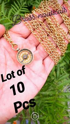 brass compass lot of 50 brass mini working compass nautical gift