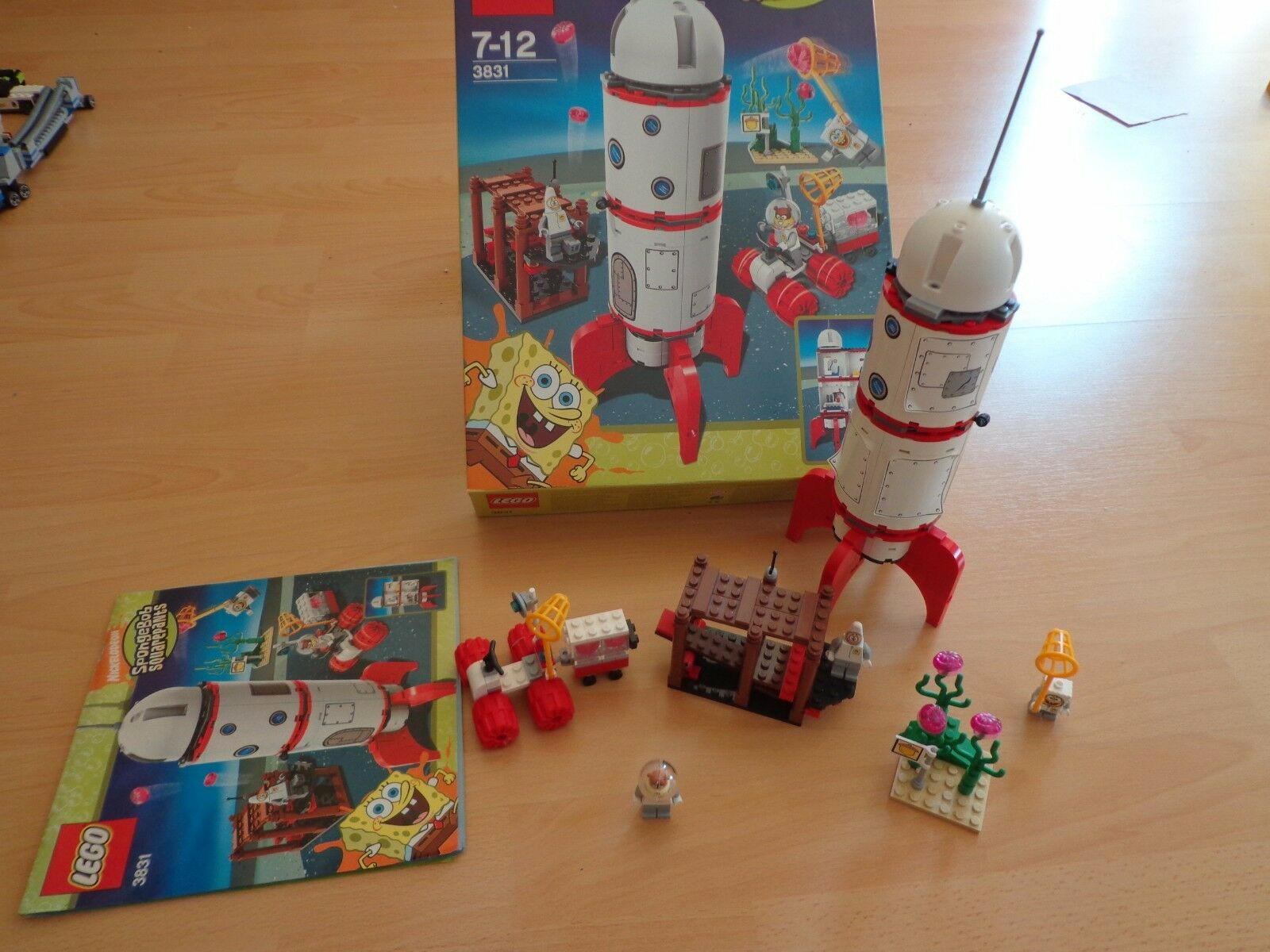 Lego 3831 SpongeBob Raketenfahrt  OVP mit Bauanleitung komplett