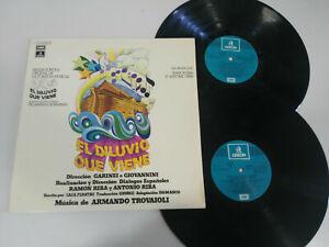 El-Diluvio-Que-Viene-1977-Odeon-2-X-LP-Vinilo-12-034-Armando-Trovaioli-VG-VG