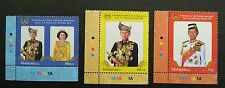 Installation OF 14th DYMM Agong Malaysia 2012 King Royal (stamp color) MNH #1