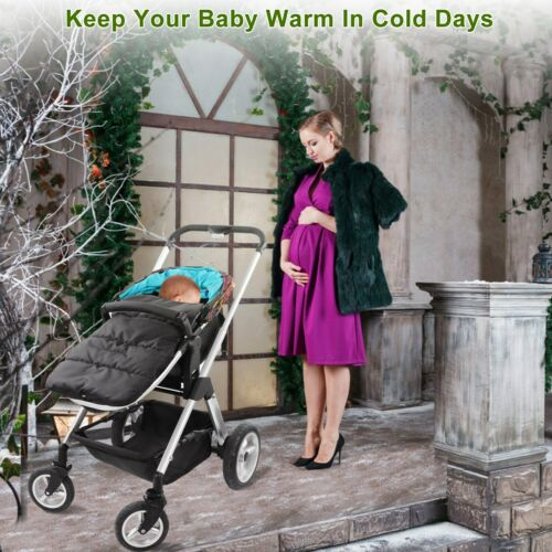 Universal Baby Footmuff Sleeping Bag Pushchair Stroller Pram Car Seat Blanket