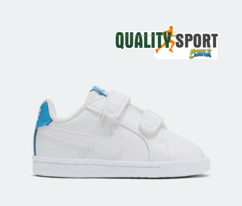 Nike Court Royale Bianco Scarpe Shoes Bambino Infant Sneakers 833537 106 2019