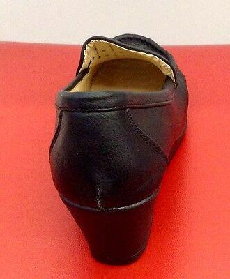 Damen Schuhe Pumps Loafers Mokassins Bequem Lochmuster Ballerinas Schwarz