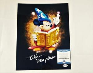 BRET-IWAN-034-MICKEY-MOUSE-034-SIGNED-METALLIC-11X14-PHOTO-DISNEY-BECKETT-BAS-COA-100