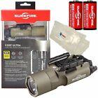 Surefire X300 Ultra LED Light TAN w/ 2 CR123A Batteries 600 Lumens X300U-A