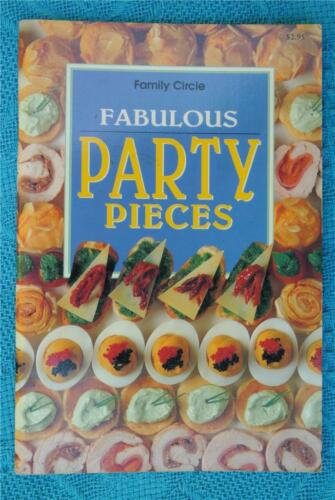 1 of 1 - Family Circle~ Fabulous PARTY Pieces ~RARE~ FAMILY Recipes/Christmas/PARTY FOOD
