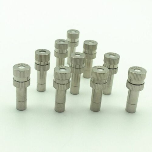 Atomizing Misting Metal Nozzle Injector Pressure Fogging Spray Head With Filter