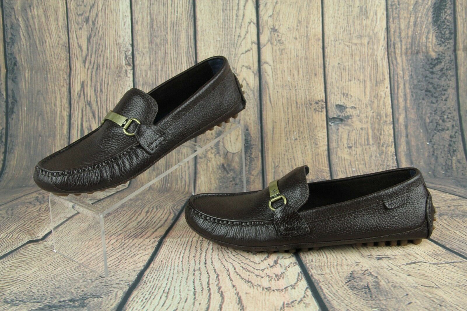 Cole Haan schuhe Provincetown C26141 BTDRVII Loafers braun Pebbled C26141 Provincetown Mens SZ 9.5 dc6a58