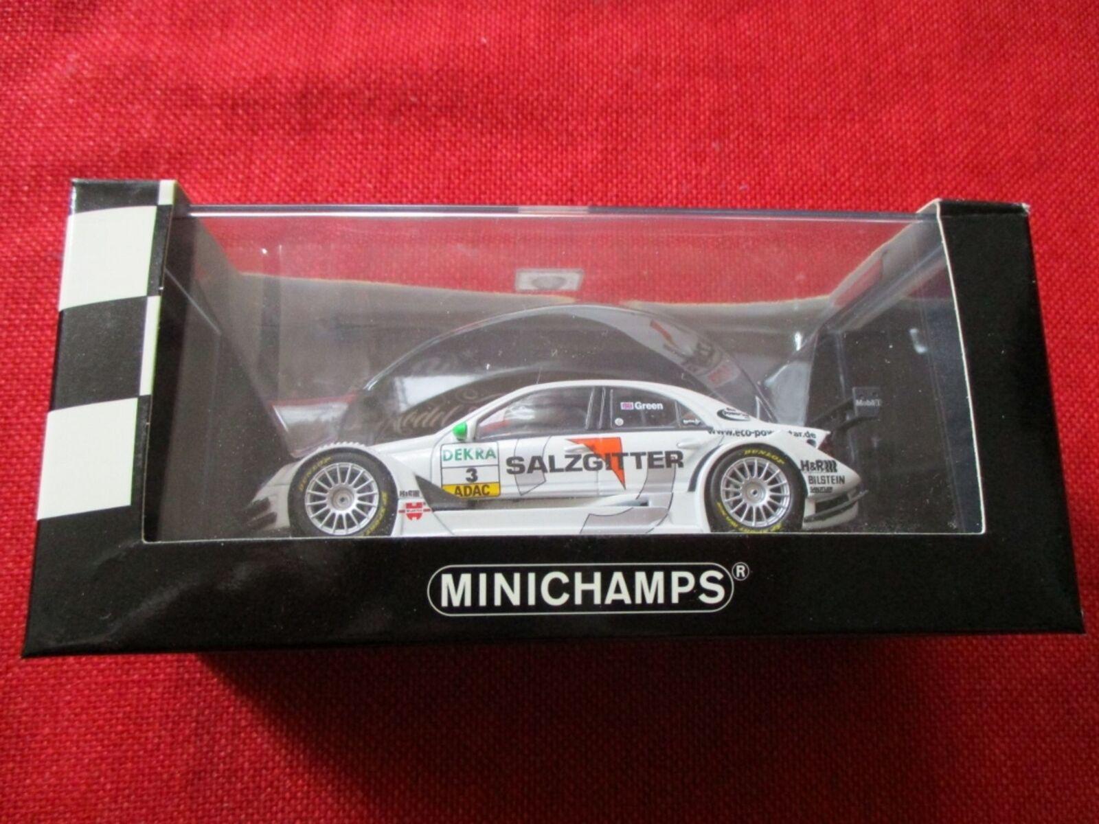 MINICHAMPS ® 400 063603 1 43 Mercedes C-CLASS DTM 2006 TEAM AMG-Mercedes J. vert