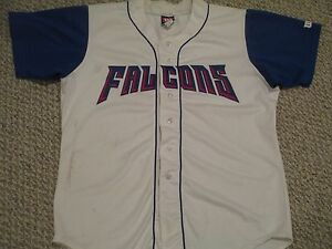2005 Surprise FIGHTIN FALCONS SZ 48 #12 Golden Baseball League game used jersey