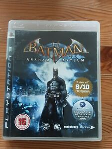 Batman-Arkham-Asylum-Sony-Playstation-ps3-Spiel