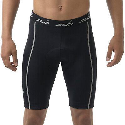 Onesto Propria Maglietta Intima Sub Sport Dual Pantaloncini Ciclismo Da Uomo-nero-
