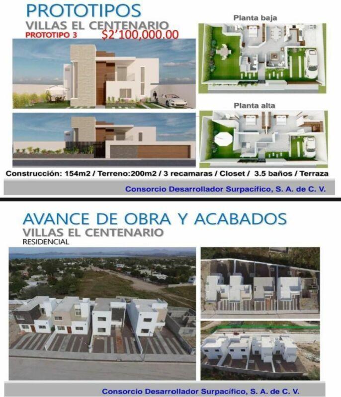 Venta de hermosa residencia, Villas del Centenario, La Paz, BCS