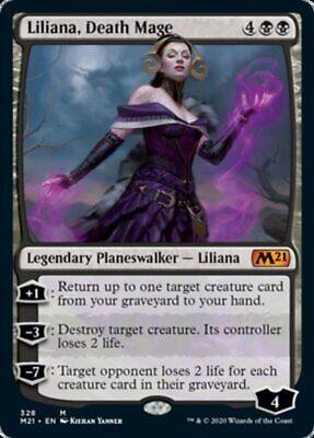 Oath of Liliana MTG magic EMN MRM FR//VF Serment de liliana
