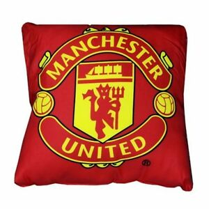 Manchester-United-Crest-Cushion-Red-37x-37cm-Microfibre-With-Big-Club-Logo