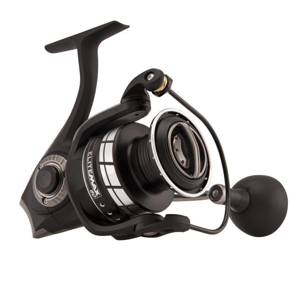 NEW Abu Garcia ELITE MAX 60 EMAXSP60 Spin Fish Fishing Reels -1475819 + Warranty