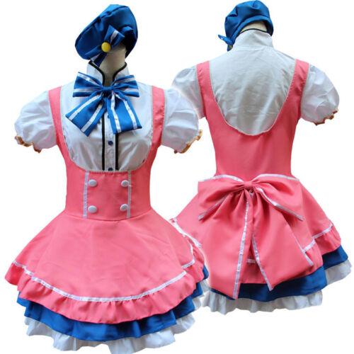 Love Live Minami Kotori Cosplay Costume Candy Lolita Princess Maid Dress Outfit