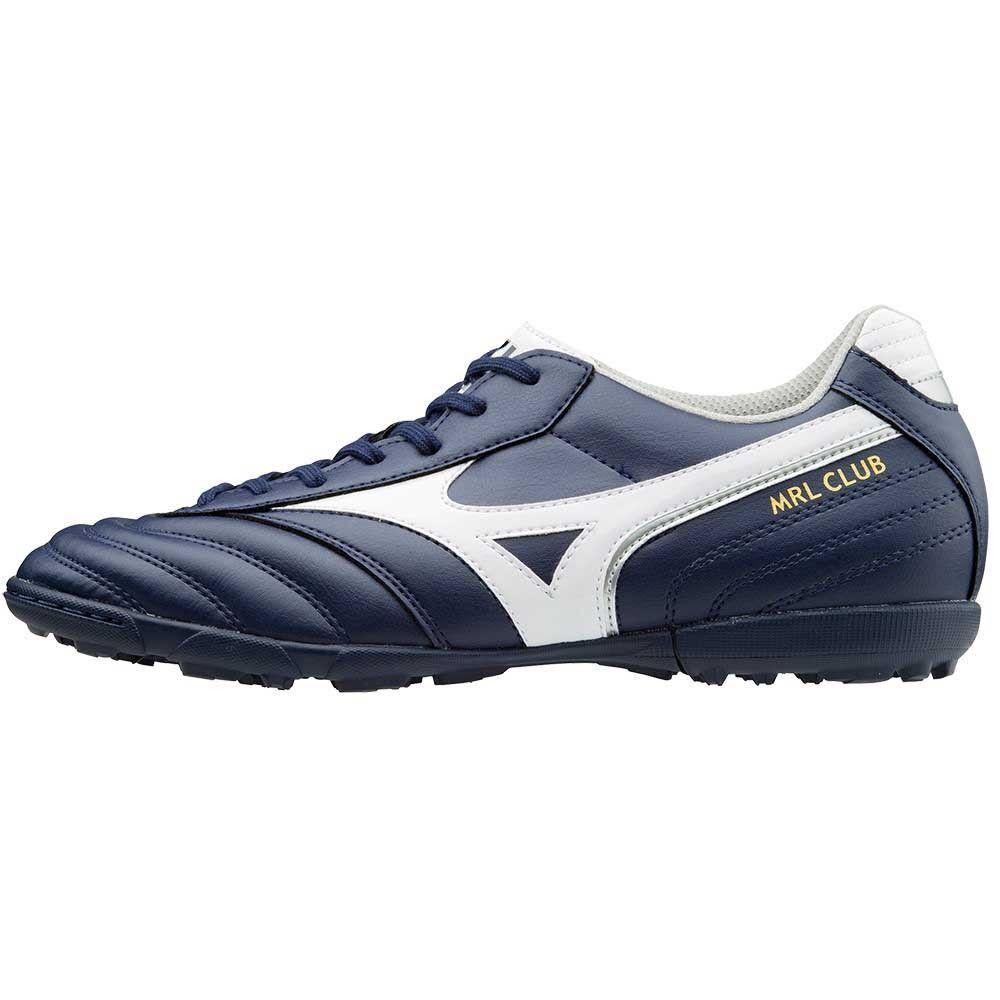 Mizuno Mrl Club As Zapatos Futbolín Turf Outdoor blancoo Azul P1GD171614 Hombre