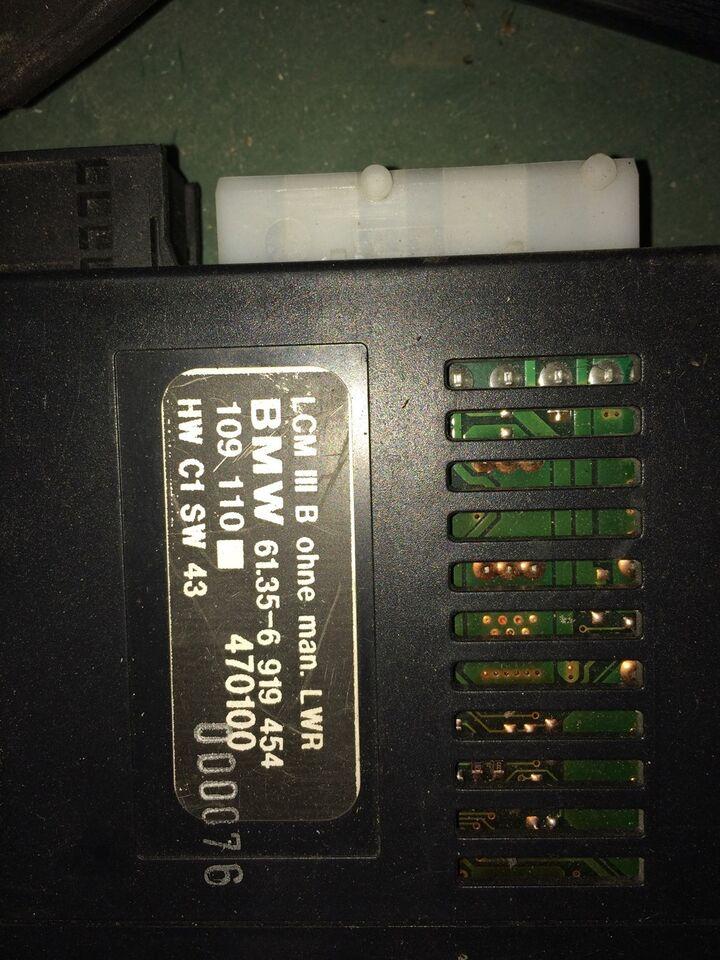 Elektriske Dele, lysmodul, BMW e39/e38