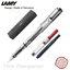 LAMY Vista Transparent Clear Fountain Pen Free T10 +Z28 Choose Your Nib Size