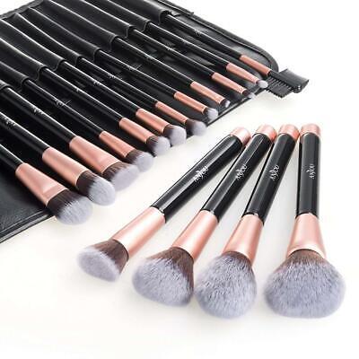 anjou makeup brush set 16pcs premium cosmetic brushes for