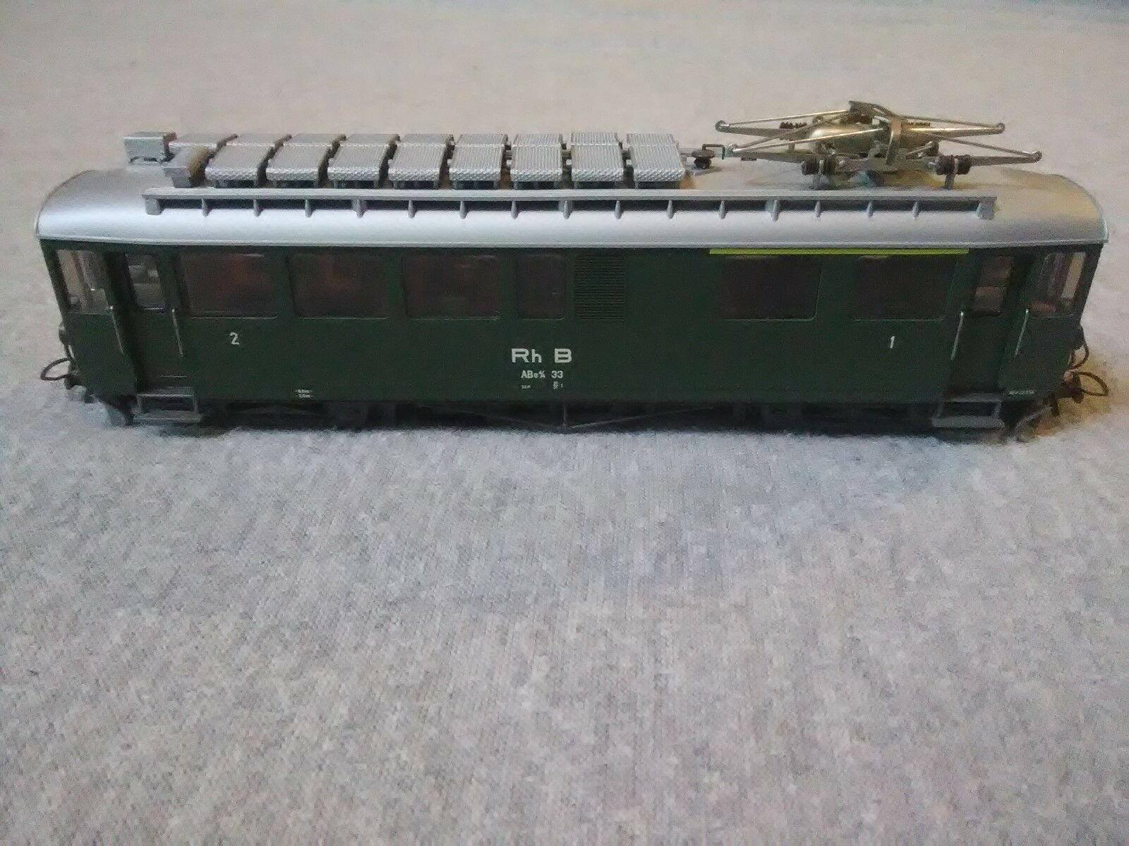 Bemo HOm Swiss Electric Railcar RhB ABe 4/4 33  ~ TSL