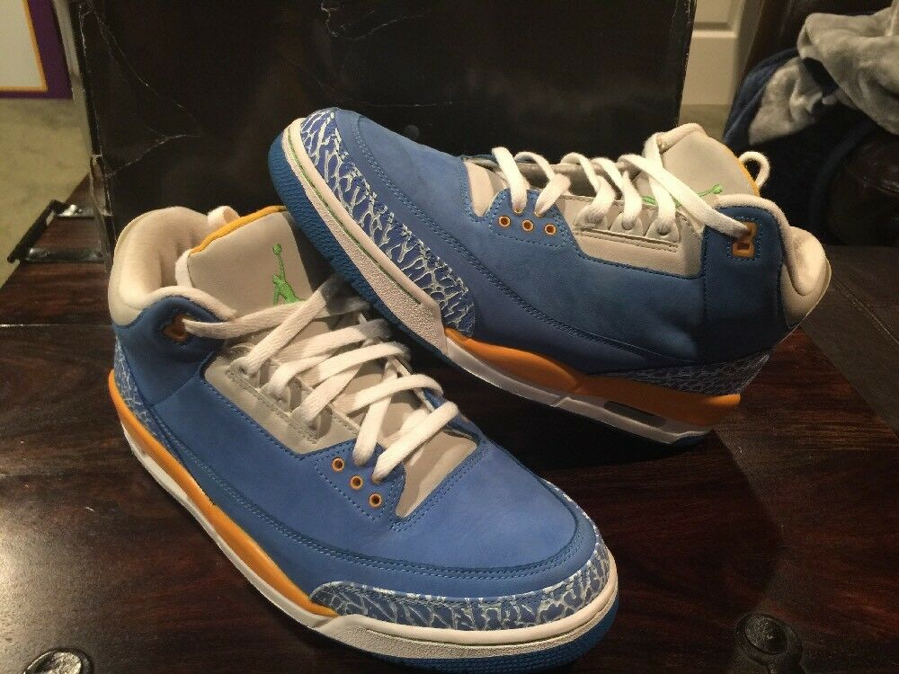 2007 Nike Air Jordan 3 III Retro LS Do The Right Thing DTRT Mens 11.5