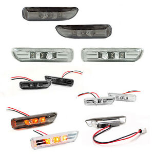 Intermitentes-laterales-led-para-Bmw-E46-Compact-acabado-claro-o-oscurecido