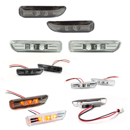 Turn Singal Side LED For BMW E46 Compact Finish Clear Or Blackout