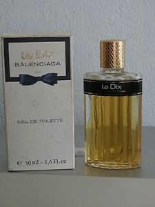 Balenciaga Old Vintage Le Details Eau About Fragrance Toilette Splash Dix De Version Woman DYeW9HEI2b