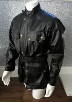 Save £400 ! Immaculate Condition BELSTAFF PANTHER Black Leather Jacket UK Medium