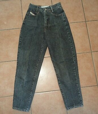 SchöN Jeans Hose Diesel Basic W29 34 36 38 S Karottenform Vintage 70er J Grau Schwarz