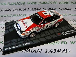 voiture-1-43-IXO-altaya-Rallye-n-120-Catalogne-1991-TOYOTA-CELICA-GT-4-Schwarz