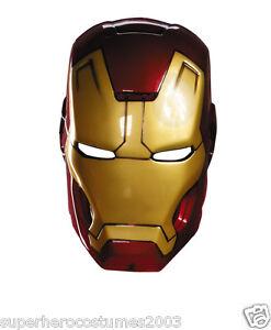 Iron Man Mask Cake Template