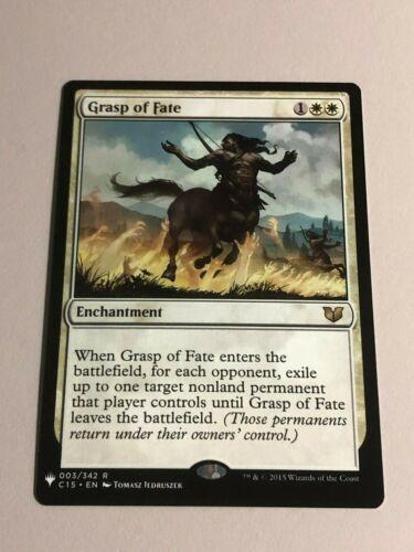 GRASP OF FATE X4 Commander 2015 Magic MTG MINT CARD