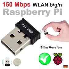 WLAN b/g/n 150Mbit USB Stick + WIFI Antenne Adapter Raspberry Pi 2 3 Zero RTL...