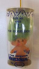"""Vintage Uneeda (Genuine)""""WISHNIK TROLL""""(Green Hair) Doll RARE! Original Package"""