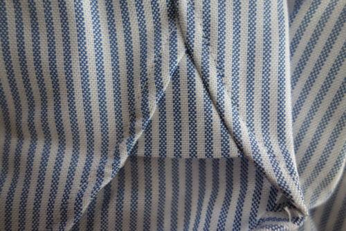 NWOT Brooks Brothers Blue University Stripe Oxford Button Down Regent MSRP $140